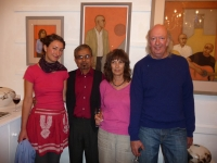 Shanti Panchal & Moira Goodall Private View Sept.