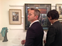 Michael Smee & Charles Debenham Private View Oct14