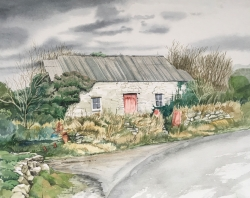 Welsh Cottage Painting