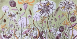 Autumn Spey Print by Angie Lewin