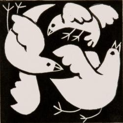 Swooping Birds Print