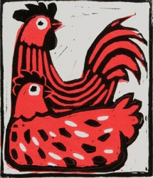 Married Chickens Print
