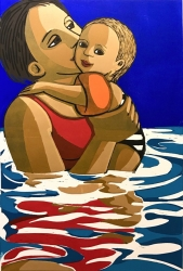 Swimming Print