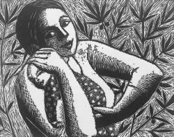 The Olive Print by Anita Klein