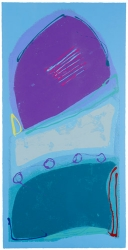 Blue Rondo Print
