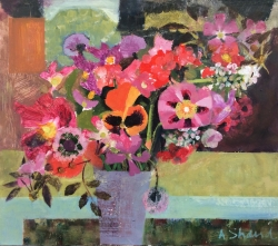 Early Summer flowers Painting