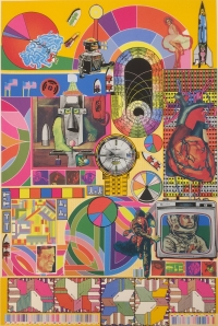 View works by Sir Eduardo Paolozzi KBE RA