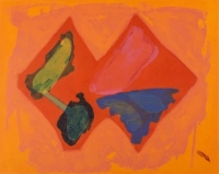 View works by John Hoyland  RA
