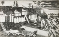 View works by Edward Bawden CBE RA