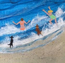 Splashing Painting