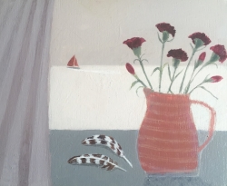 Summer Windowsil Painting