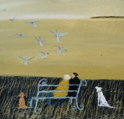Seagull Serenade Painting