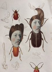 Beetle Brothers Painting
