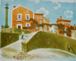Top of the Hill Bedoin Print