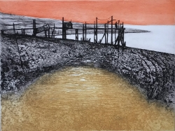 The Wooden Jetty Print