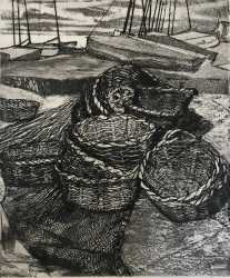 Oyster Baskets Print