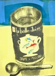 Soupe de Poissons Print