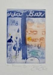 Pasticceria Bar in a Venice Square Print