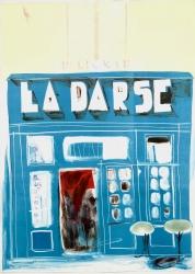La Darse Dieppe Print by Chloe Cheese