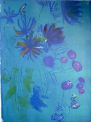 Monets Garden Print