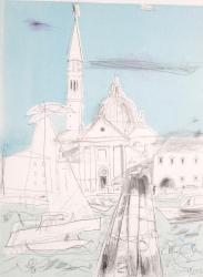Venice on Sunday Painting