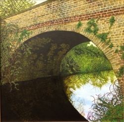 Canal Bridge Painting