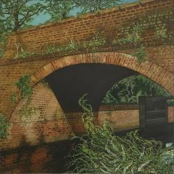Bridge at Beeligh Painting
