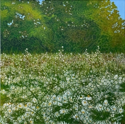 Daisy Meadow Painting