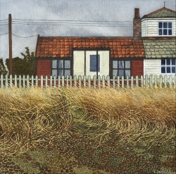 House on the Beach Painting