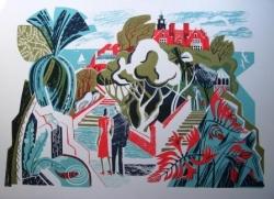 Spa Gardens Print