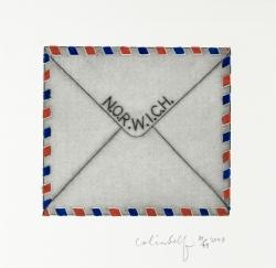 Sweetheart Letter, N.O.R.W.I.C.H Print
