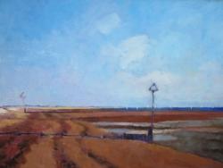 West Mersea Low Tide Painting