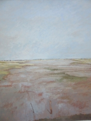 Salcott Mudflats Painting