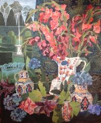 Gladioli Painting