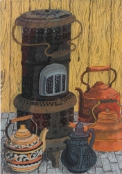 Valour Stove Painting
