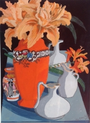 Day Lily Painting