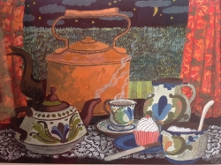 The Copper Kettle Painting