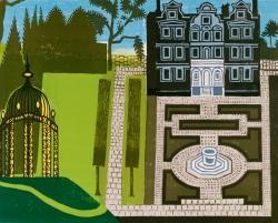 The Queens Garden (London) Print