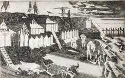 Southcliffe Beach Print