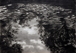 Alan, Allan's Pond Painting