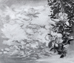 Untitled (Roses) Painting