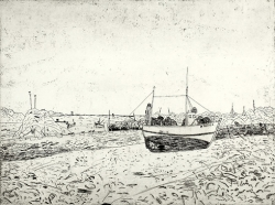 Fishing Boats Longuivy Print