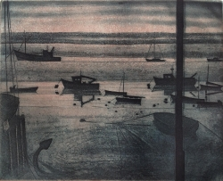 Evening Moorings Print