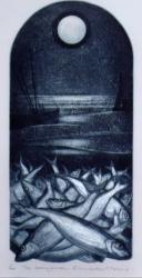 Herring Moon Print