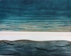 Evening Gulls Print
