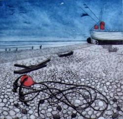 Breezy Beach Print