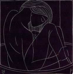 Girl in the Bath II Print