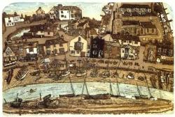 Wivenhoe Quay Print