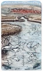 Avocets Print