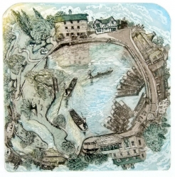 Cambridge Mill Pools Print